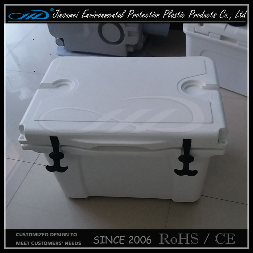Rotomolding Plastic Insulated Food Plastic Cooler Box pictures & photos