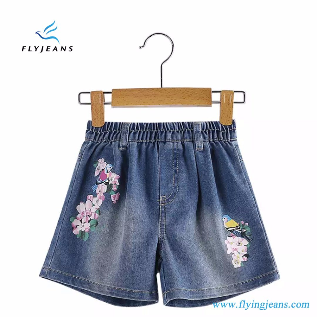 cheapest price run shoes release date: China Summer Hot Sale Fashion Girls′ Elastic Denim Shorts by Fly ...