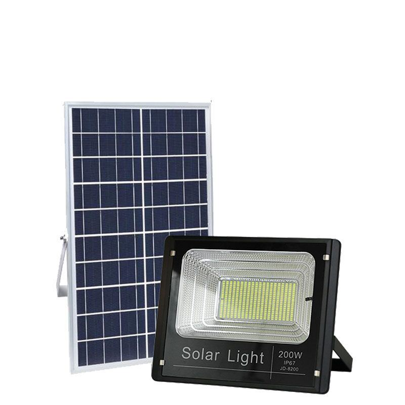 Hot Item High Lumen Outdoor Lighting Waterproof Ip67 Aluminum40w 60w 100w 200w Solar Led Flood Light