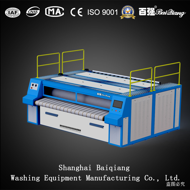 Commercial Use (3000mm) Fully Automatic Industrial Laundry Slot Ironer (Steam)