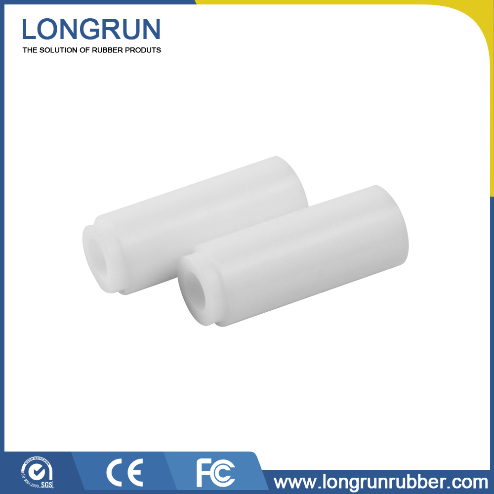 Customized White Silicone Rubber Parts for Industrial Component