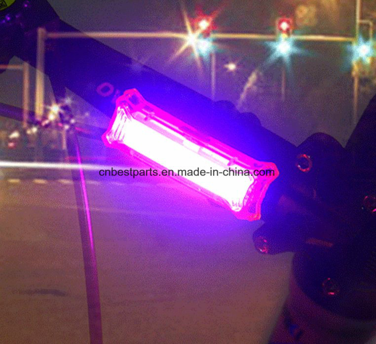 3 Color in 1 COB Bicycle Tail Light pictures & photos