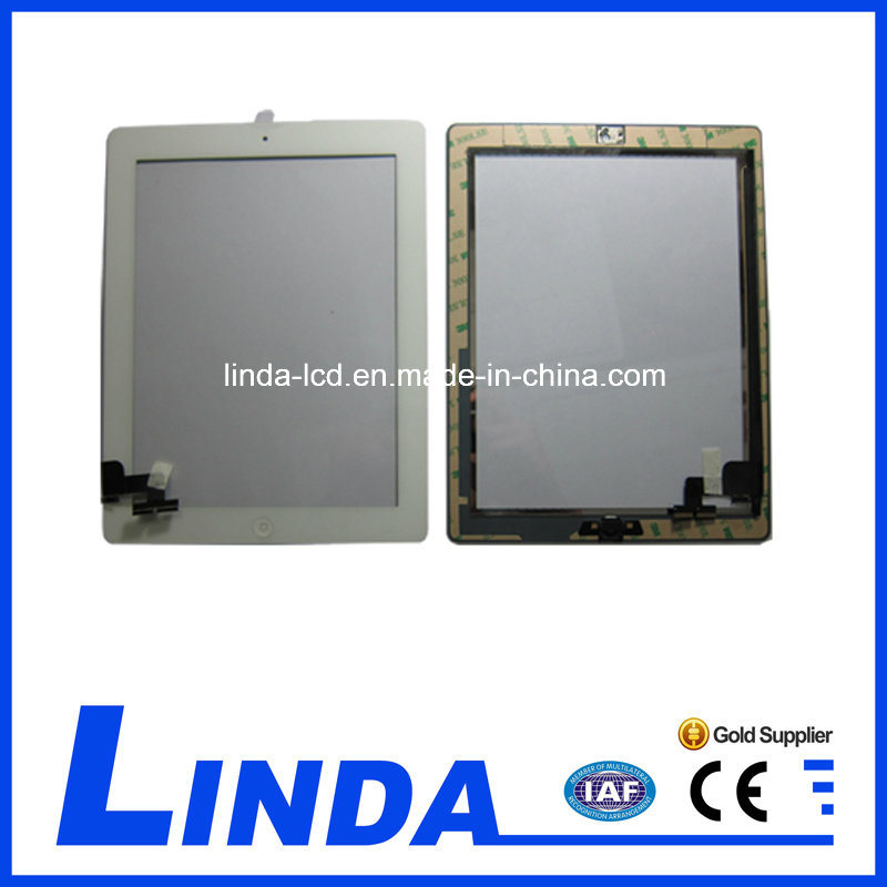 Digitizer for iPad 2 Touch Screen with Home Button Assembly pictures & photos