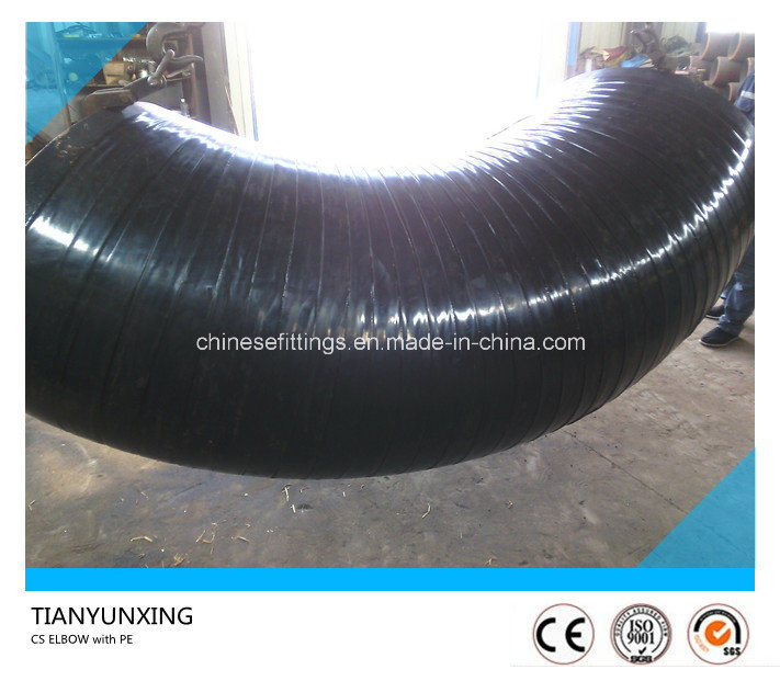 "32"" Carbon Steel Seamless Elbow with Polyethylene Coated"