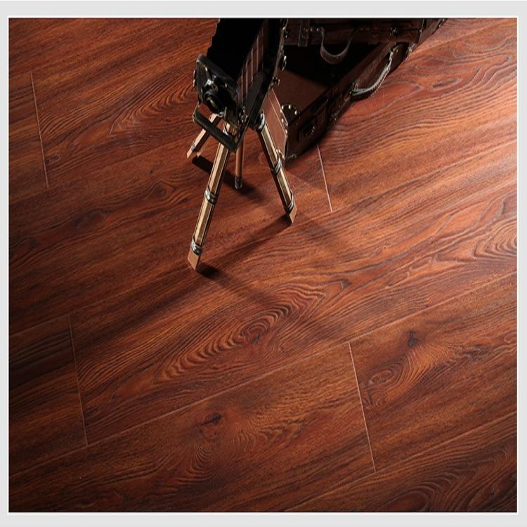 China Eco Wood Flooring E0 Hdf Krono Parquet Hickory Oak Peach Pine