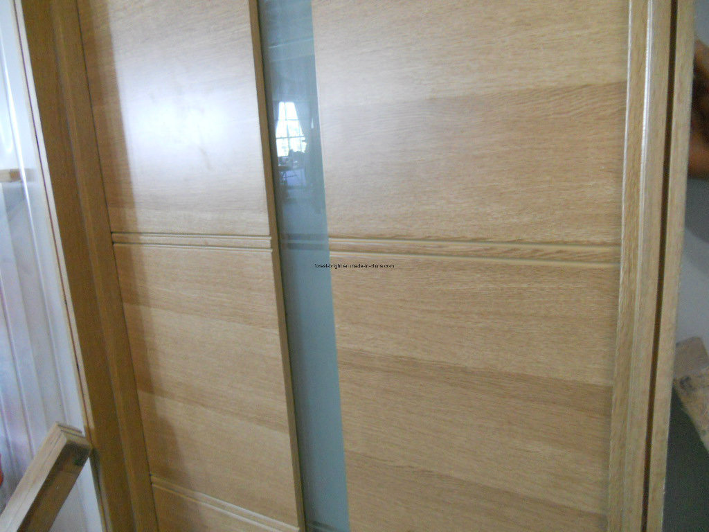 China Modern Frosted Glass Wooden Interior Bedroom Doors Photos