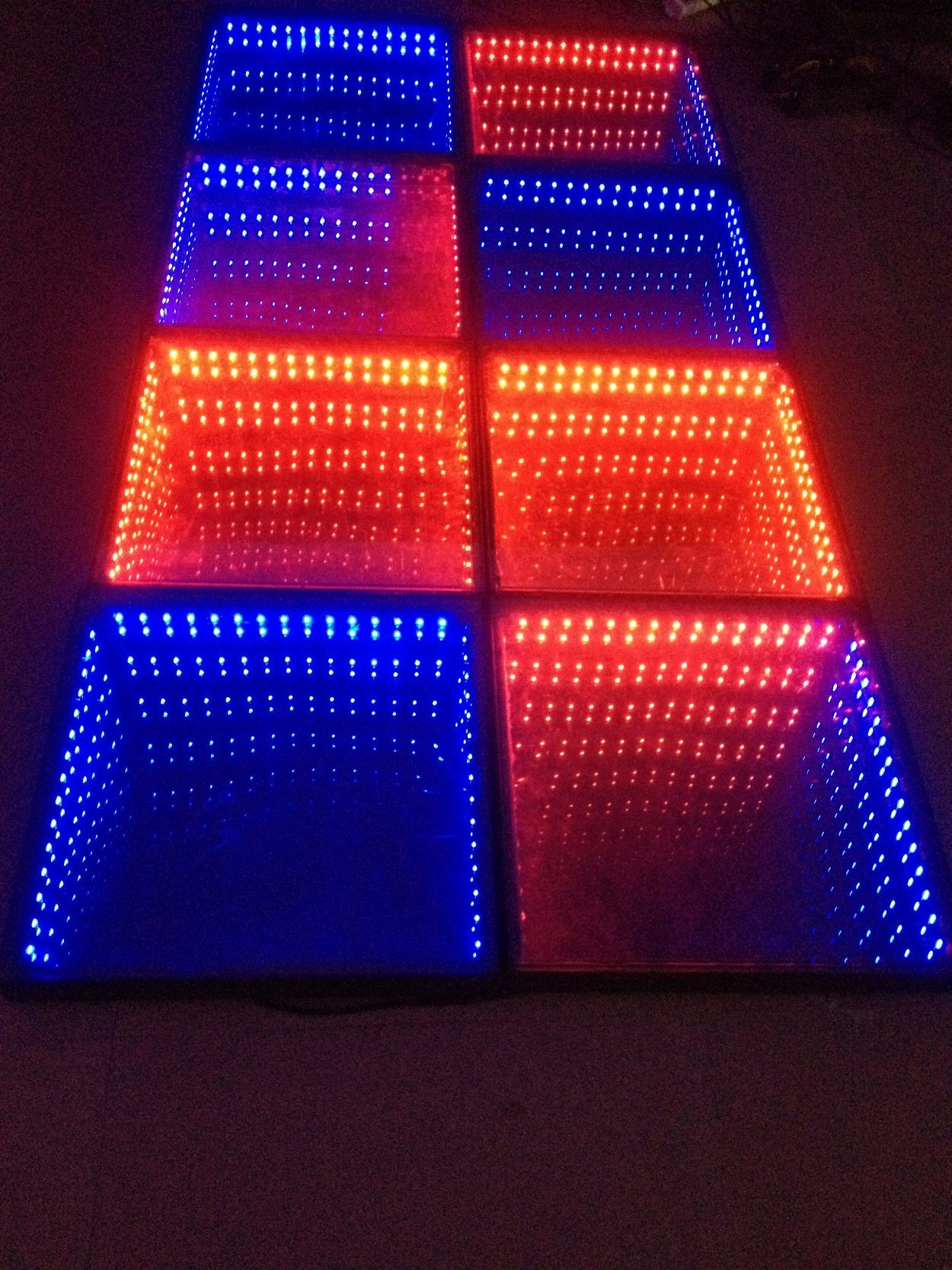 Hot Item Magic Back To The Abyss Tiles Tile Led Stage Lights And Brick Bar Dj Dance Floor Party