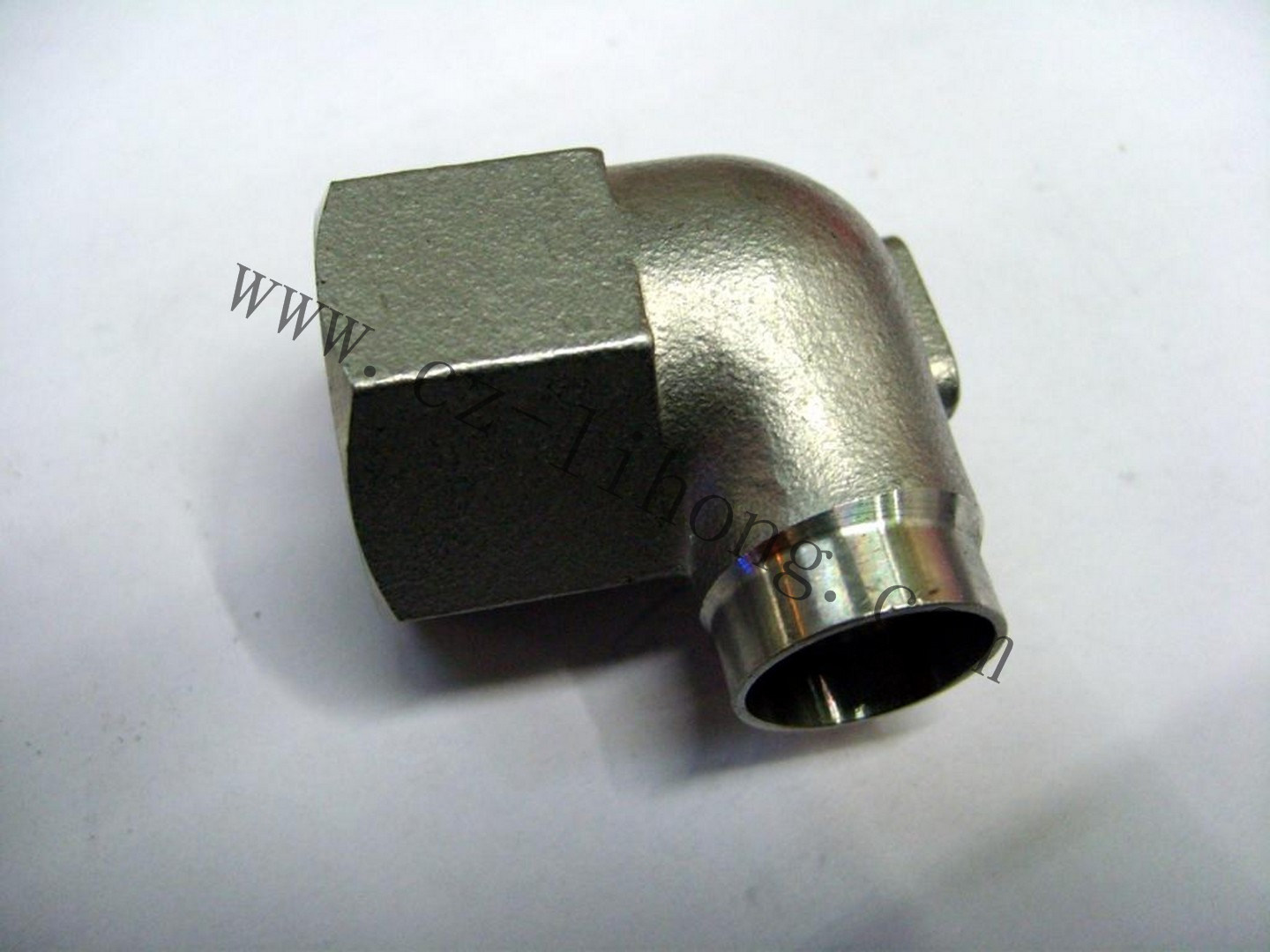 "Stainless Steel 1/8"" DIN2999 90 Degree Elbow F/F pictures & photos"
