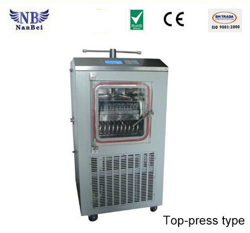 China Top Press Type Pilot Freeze Dryer Price for Pharmacy