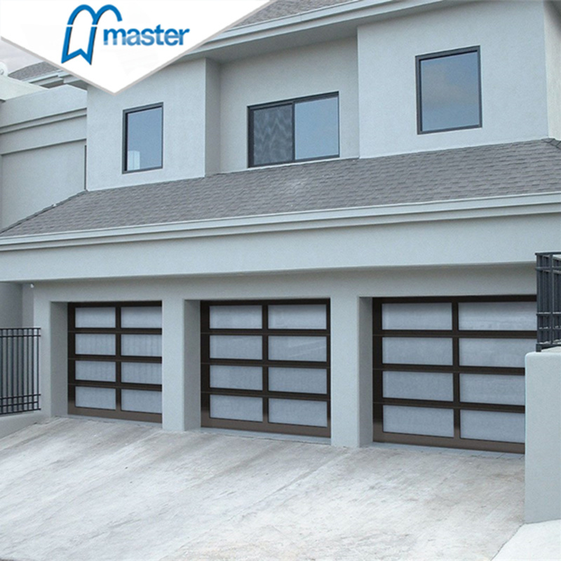 China 10 X 8 Fire Rated Entry Door With Insulated Glass Garage Doors China Modern Garage Door Garage Door