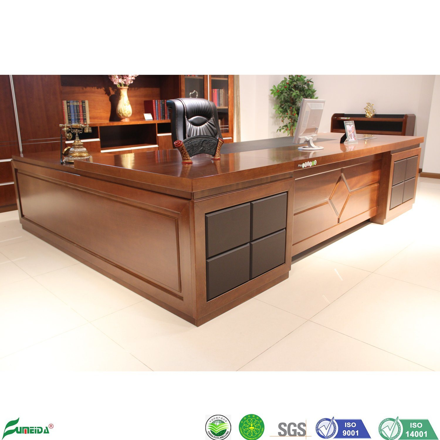 L Shaped Executive Office Furniture