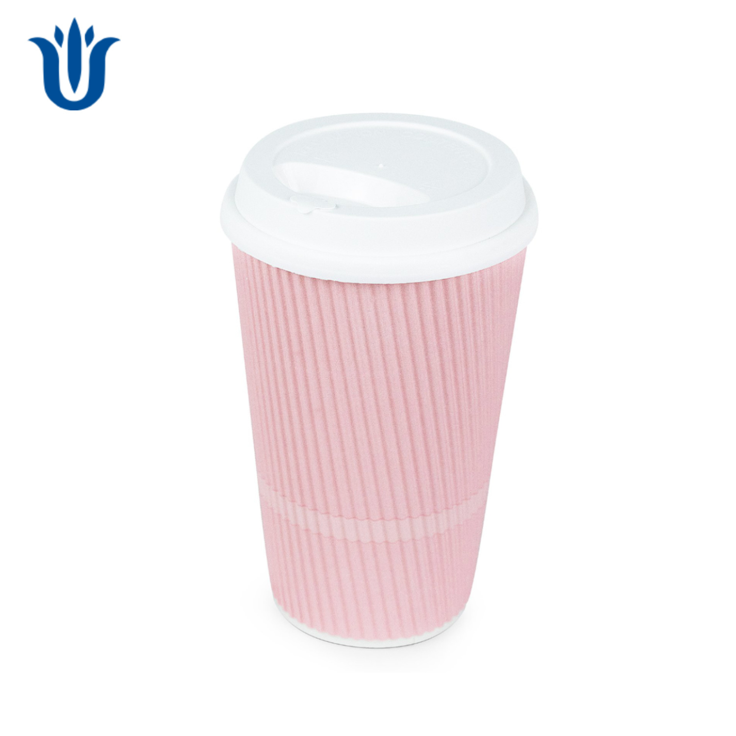 China Pink Disposable Coffee Cups