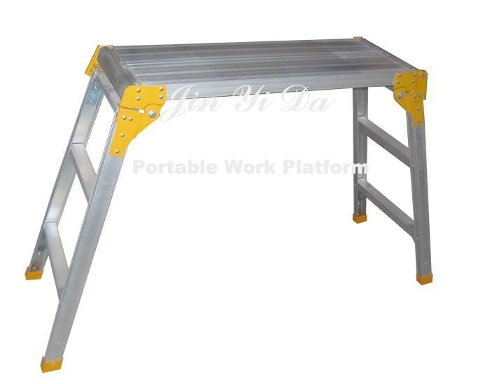 China Folding Work Platform Jw006a China Working Platform Folding Step Stool