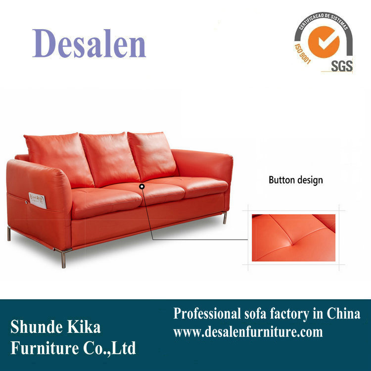 China New Arrival North Europe Leather Sofa For Home And Office Use
