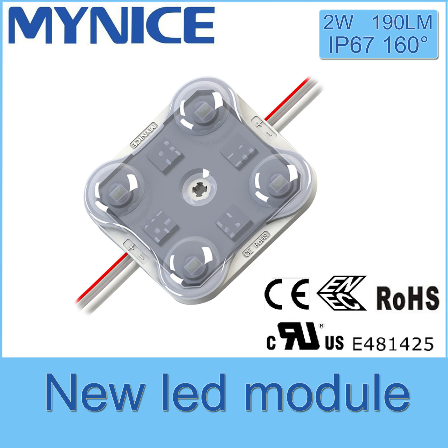 Osram LED Injection Module with Lens Waterproof with 5 Years Warranty