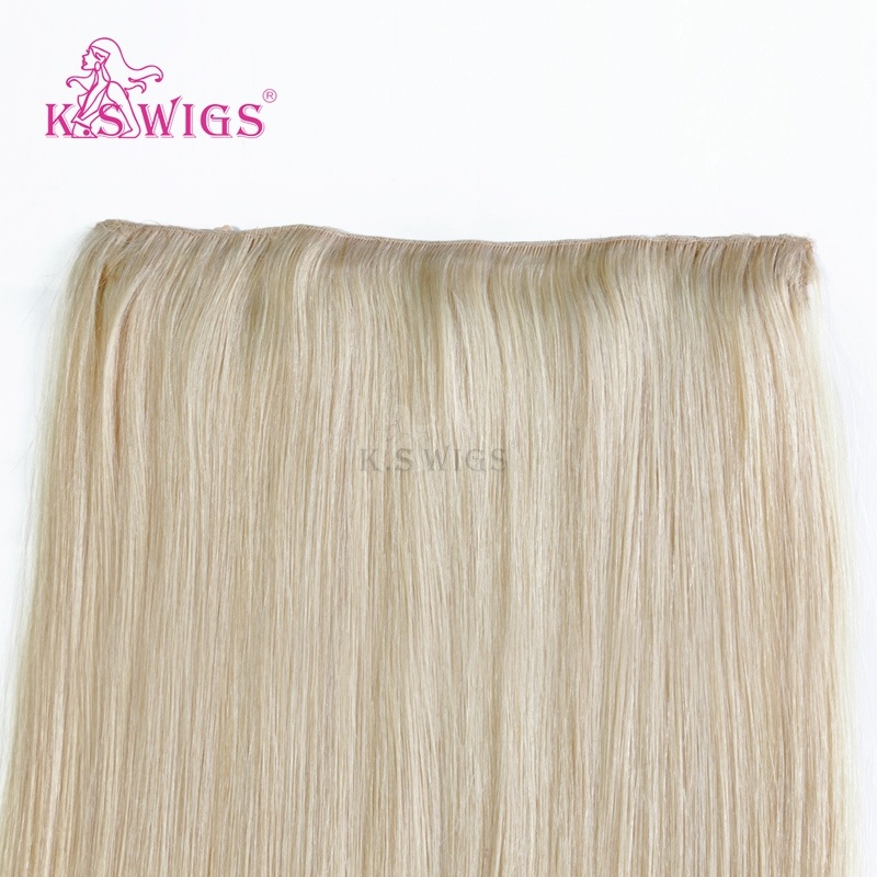 K. S Wigs Top Grade 100% Human Hair Extensoin Remy Human Hair pictures & photos