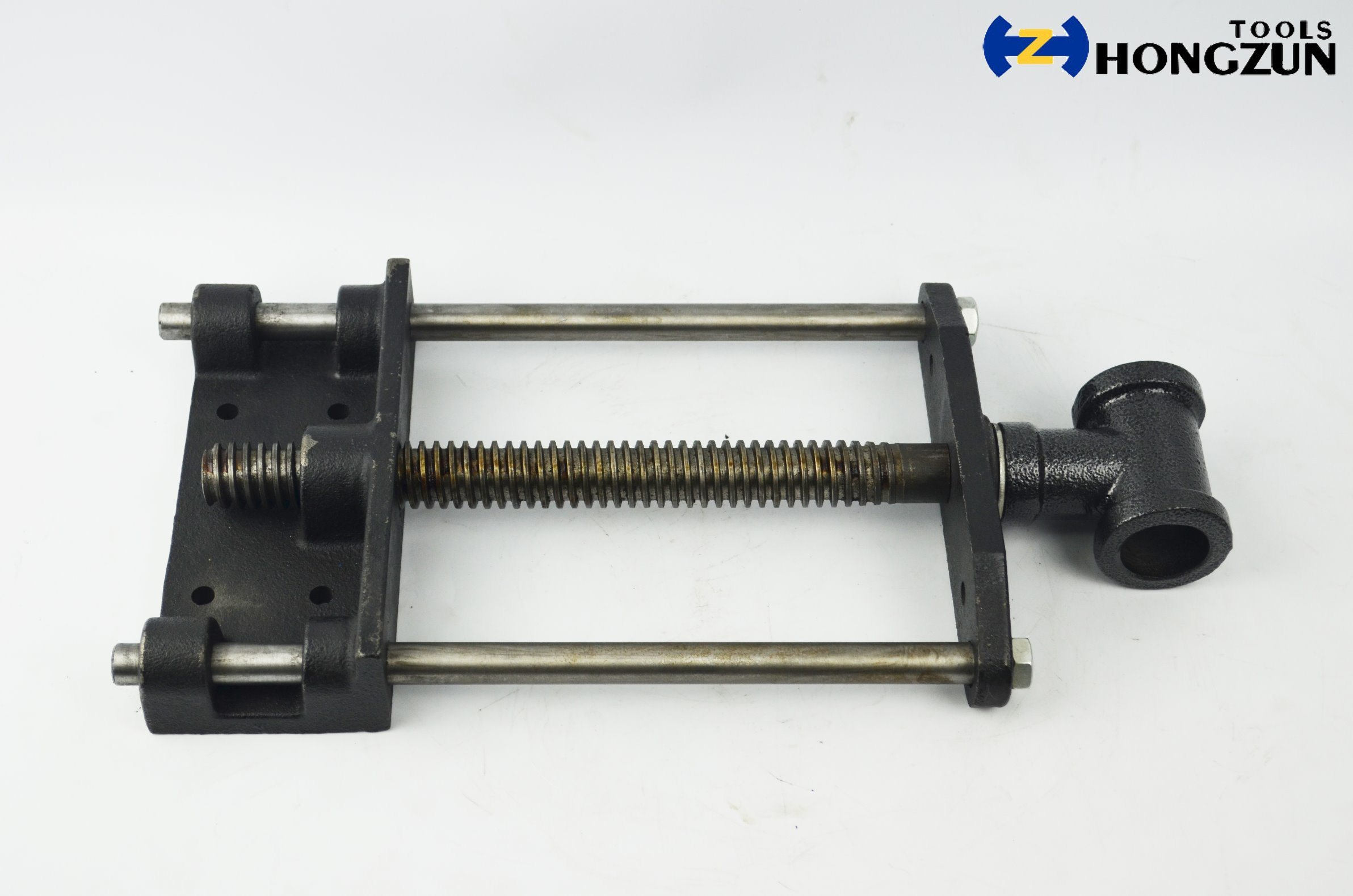 China 7 Inch Black Front Vise For Woodworking Bench Photos