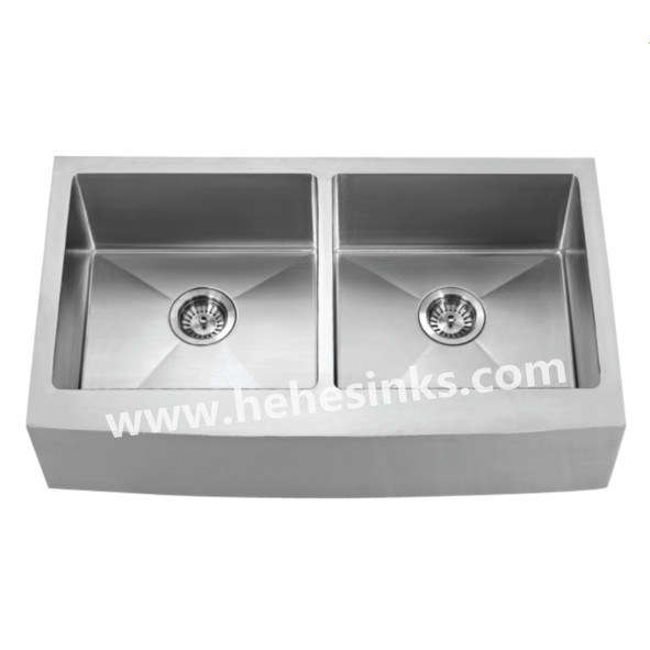 50/50 Apron Front Handmade Sink, Farmhouse Sink, Handcraft Sink (HMAD3621) pictures & photos