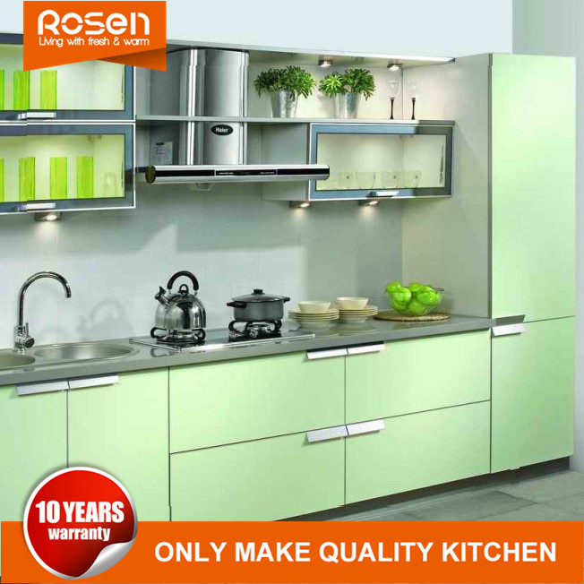 Hot Pvc Kitchen Cabinets Furniture