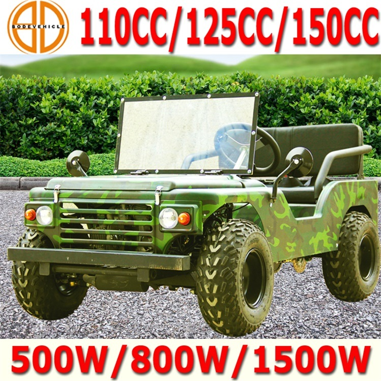 China 2015 New 110cc 150cc Mini Jeep Willys For Sale For