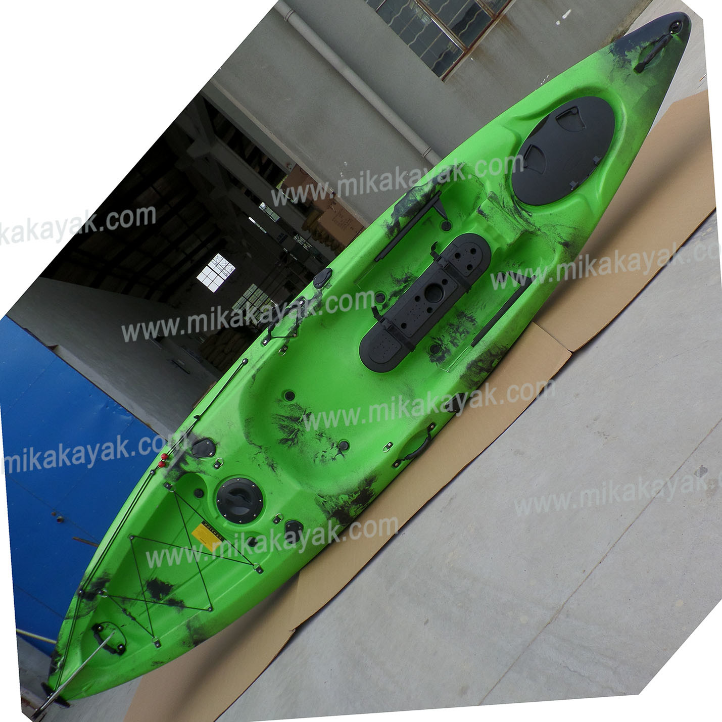 [Hot Item] Single Sea Kayak with Rudder and Foot-Pedal System, Fishing  Boats Canoe (M07)