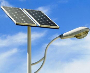 Delightful LED Energy Saving Outdoor Smart Sensor Solar Street Light