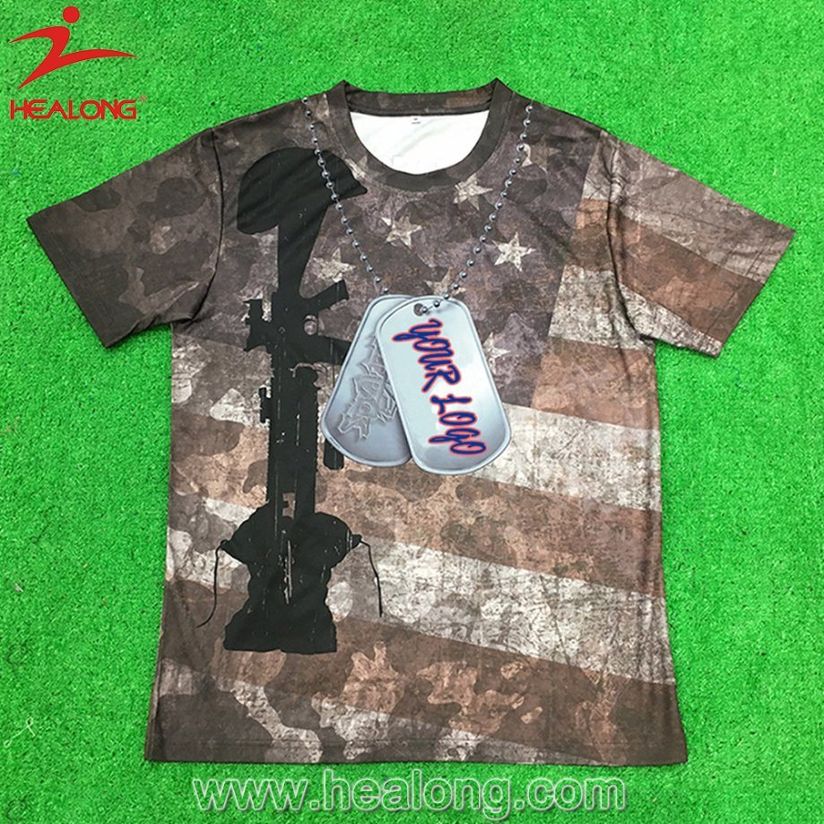 China Hight Quality Fast Delivery Custom Sublimation Mens Shirts