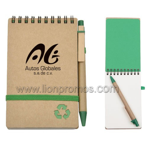 Cheap Eco Friendly Recycled Paper Pocket Notepad pictures & photos