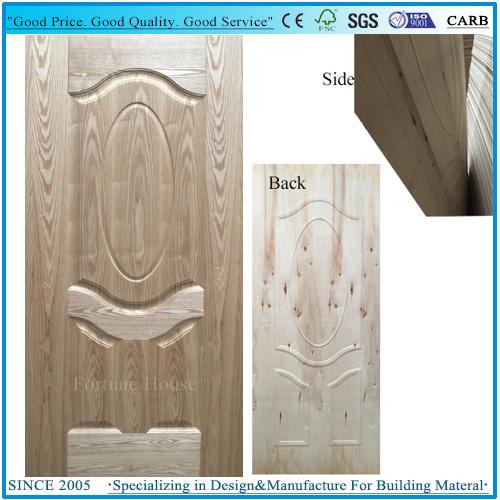 Good Quality Door Skin Plywood EV Ash Wood Timber Veneer/Door Panel