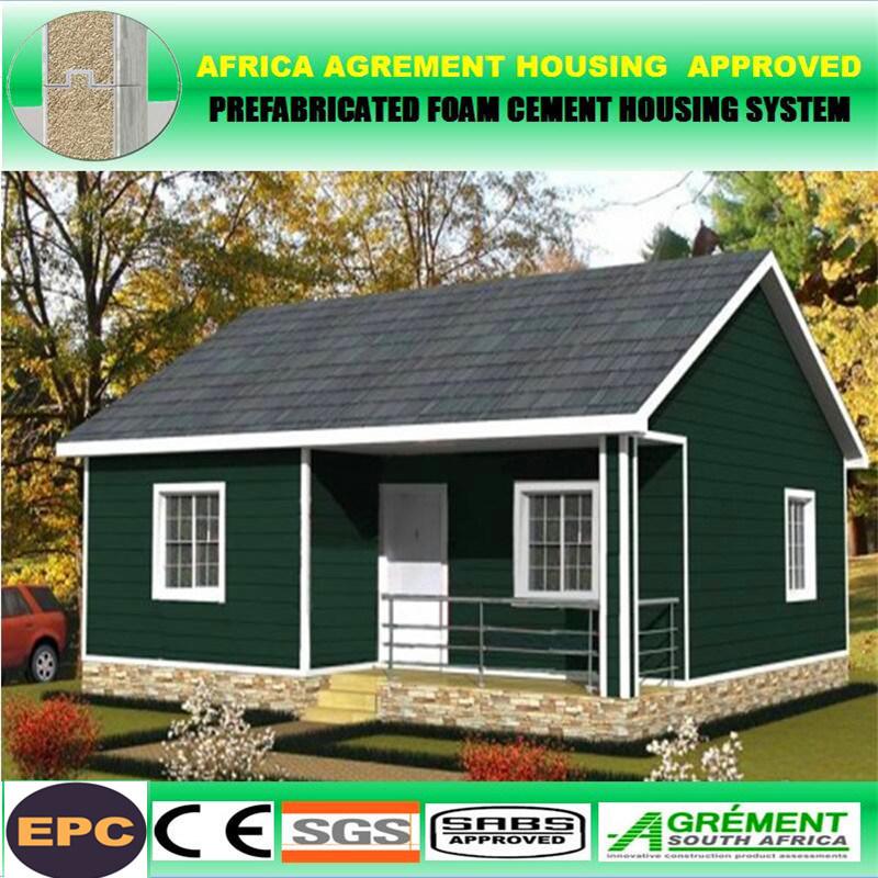 Cheap portable luxury new villas house prefab bungalow for Portable bungalow for sale