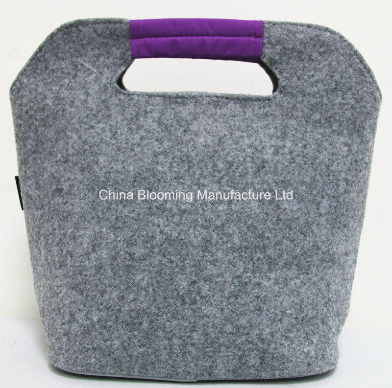 Foldable Aluminum Foil Heat Preservation Cooler Picnic Lunch Bag