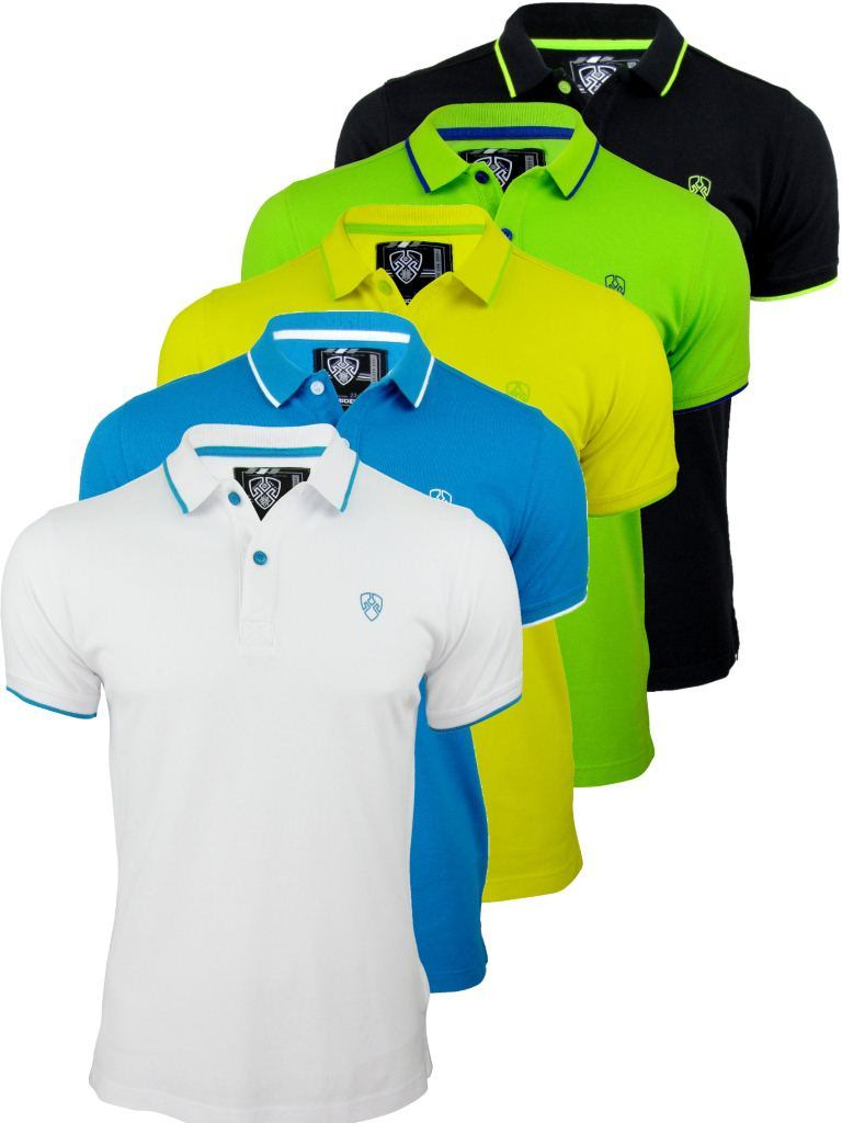 China Loose Fit Mens Cotton Pique Polo Shirts With Custom
