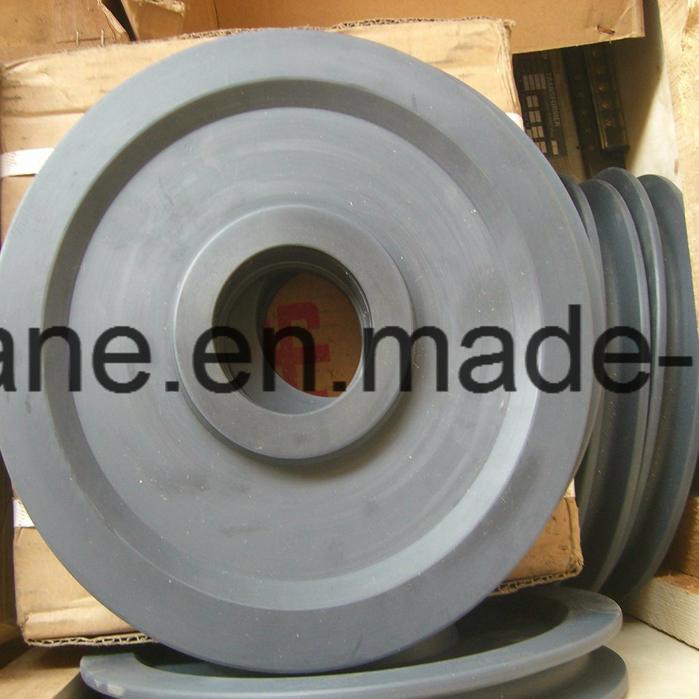 China D280/D415/D490 Nylon Wire Rope Pulley for Tower Crane - China ...