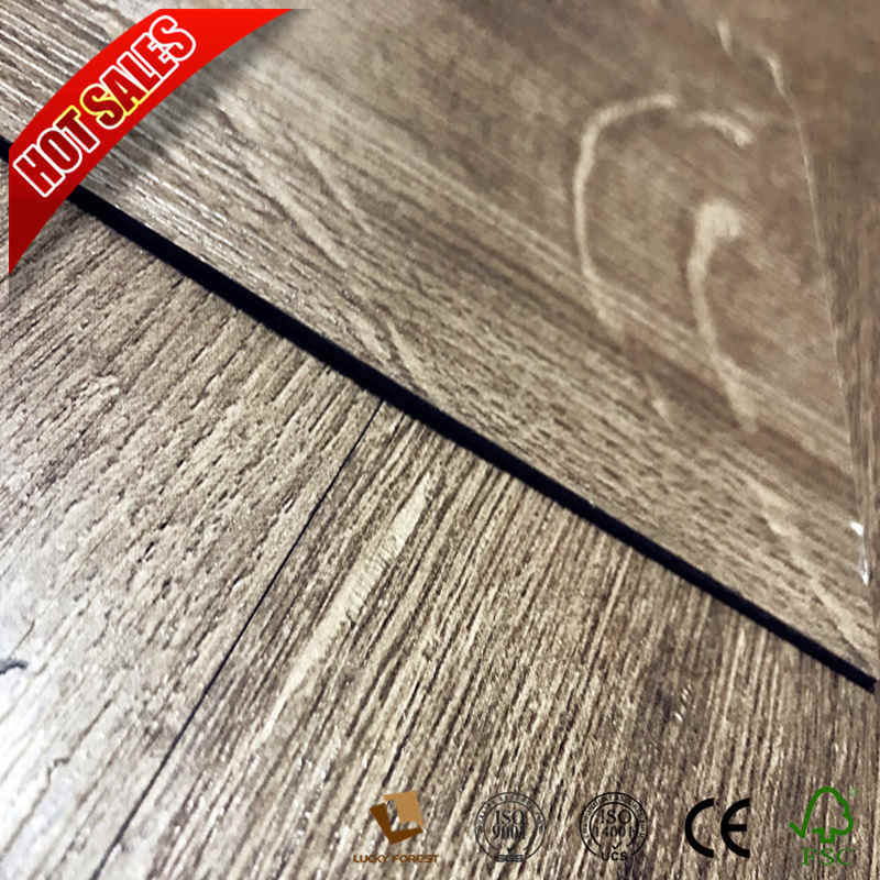 China Low Fireproof Flooring Vinyl Wood With 2mm Thickness Pvc Floor