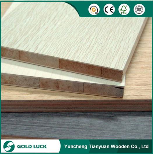 Best Price Melamine Blockboard For Furniture 1220X2440mm