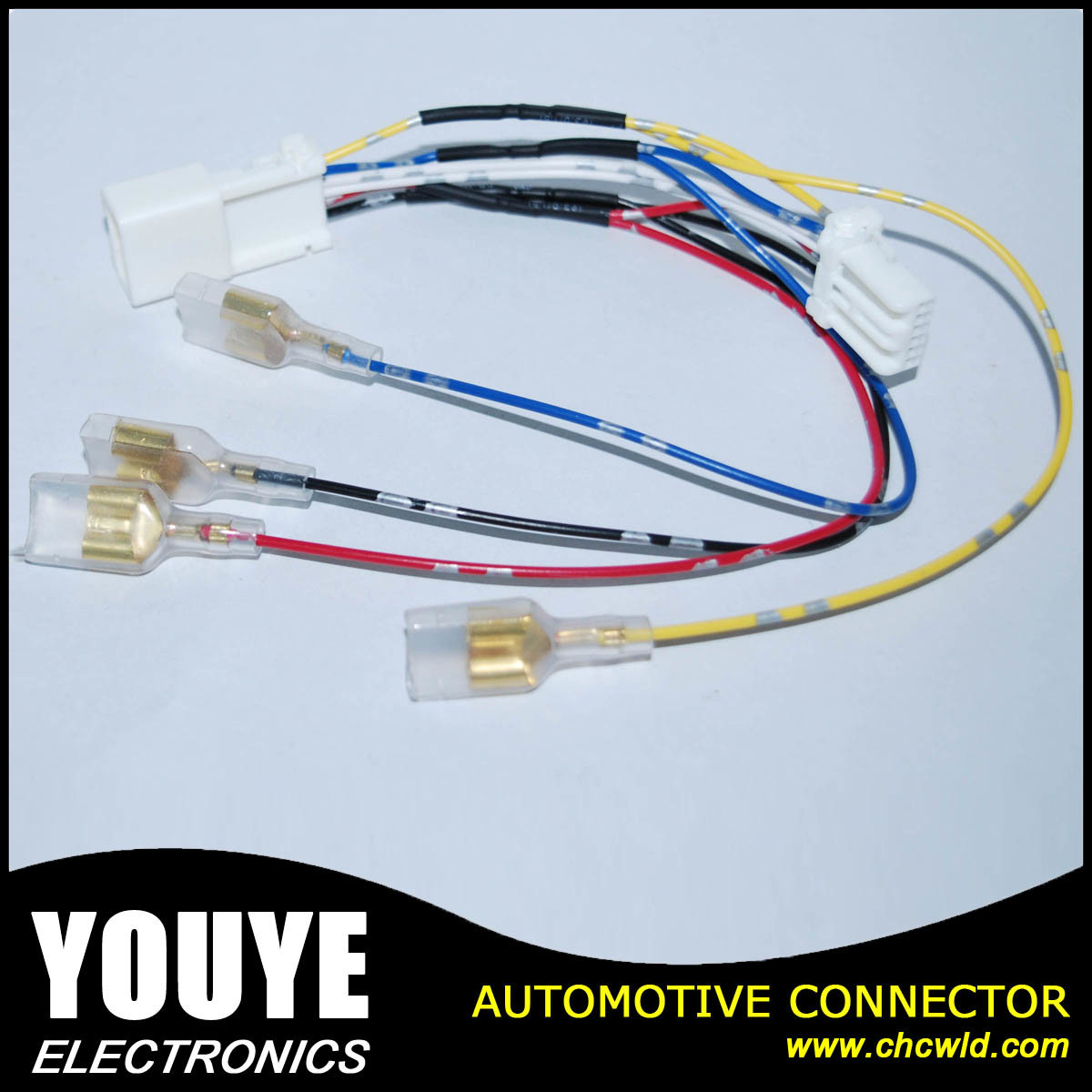 China 6 Pin Auto Connector Wire Harness Wiring