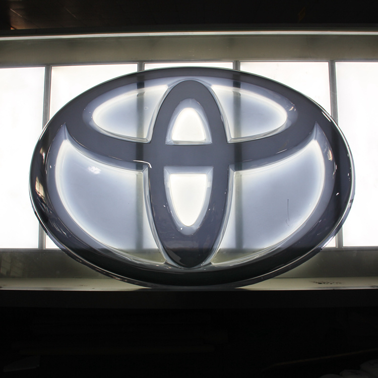 China 3d Auto Sign Vacuum Forming Badge Sticker Decal Abs Chromed Car Logo China Chrome Car Emblems And Advertising Printing Lights Price