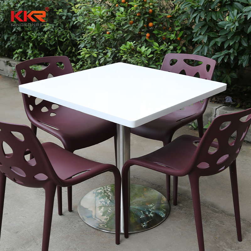 Corian Solid Surface Dining Table
