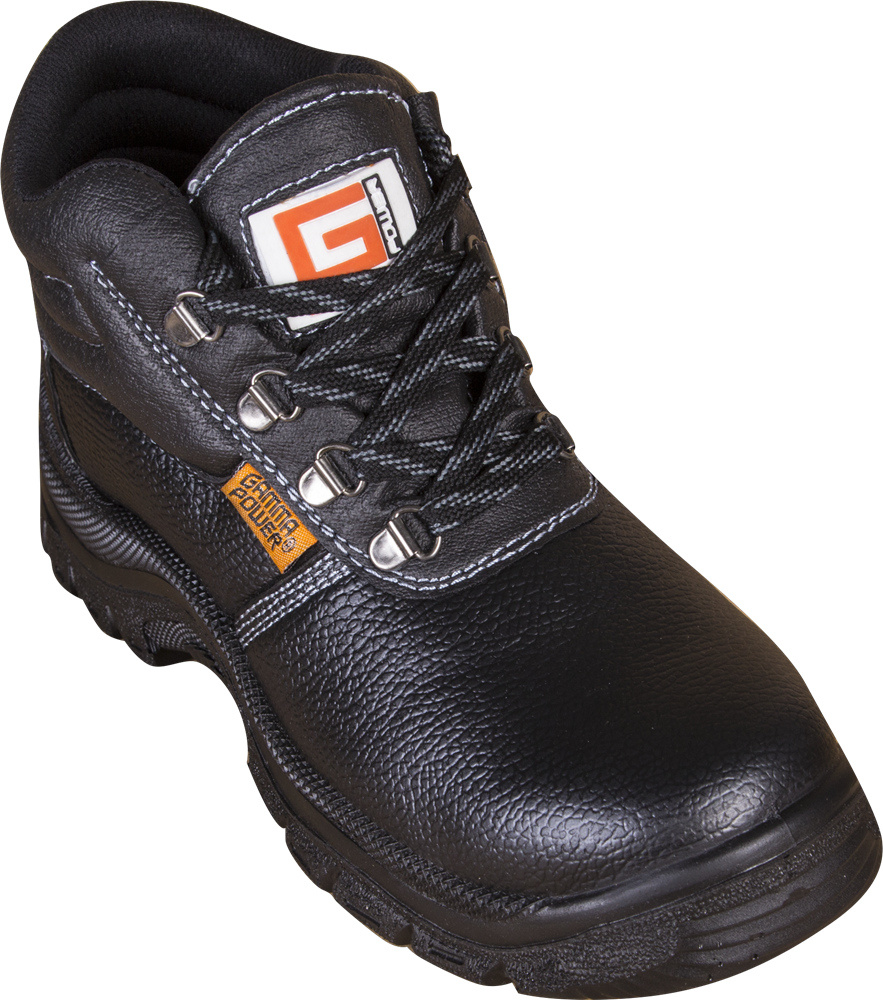 0766cf72720 [Hot Item] Cheap and Good Quality Industrial Working Protective Leather  Steel Toe Cap Safety Shoes