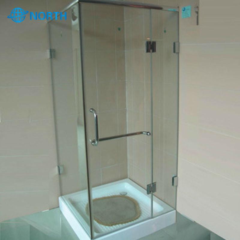 12mm Tempered Frost Bathroom Door Gl
