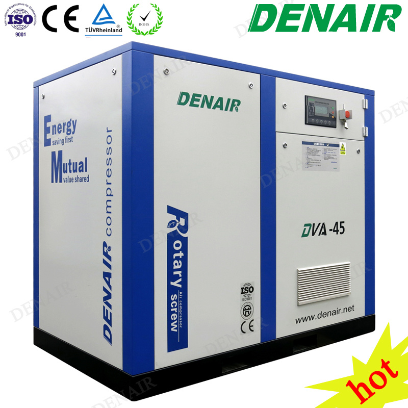 [Hot Item] 15-250 Kw Electric Motor Inverter Conversion Frequency Screw  Type Air Compressor