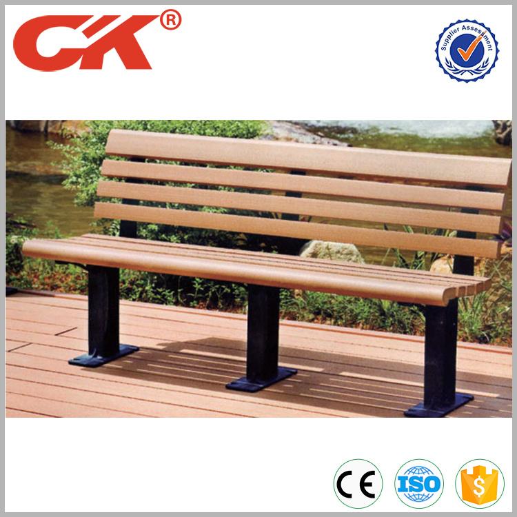 China Wpc Garden Bench Outdoor, Composite Outdoor Furniture