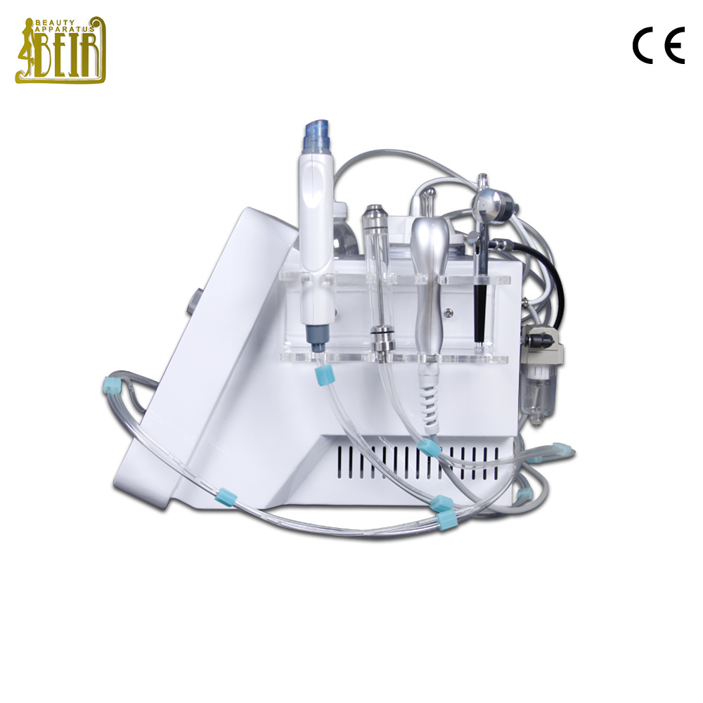 China Newest Portable Beauty Machine Multifunction Hydra Facial Bio Spray Diamond Gun For Skin Care