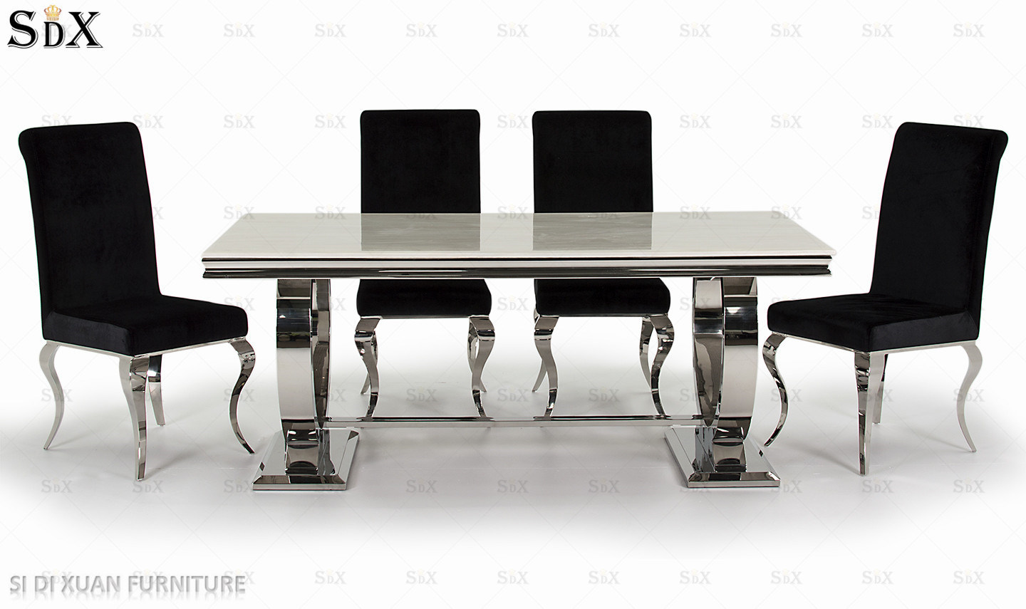 Modern Stainless Steel Gl Top
