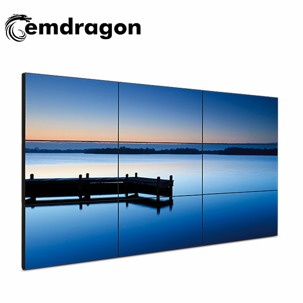 [Hot Item] 3X3 Video Wall 55 Inch Android Touch Screen Kiosk Totem LCD  Display Capacitive Touch Displays Hot Full HD Bus LED Advertising Player  LED