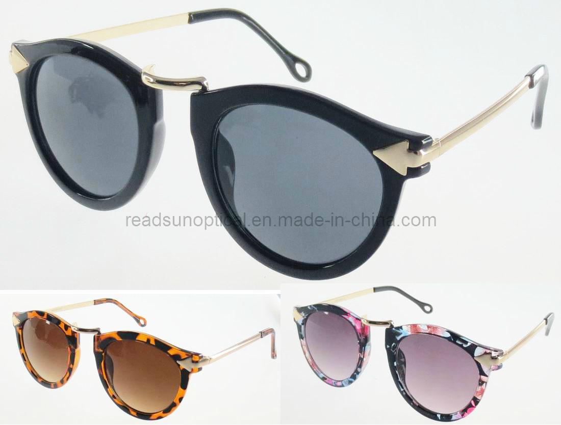 94f0e0821003 China Sunglasses Manufacturer, Round Metal Plastic Sunglasses, Round  Sunglasses Vintage (SP474007) - China Round Sunglasses Vintage, Round Metal  Plastic ...