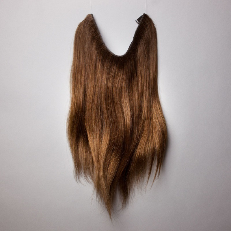 China 100 Indian Remy Cuticle Correct Halo Flip In Human Hair