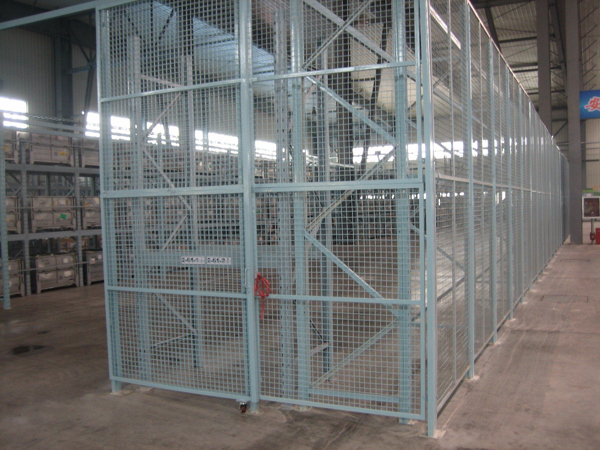 China PVC Coated Welded Wire Mesh Partition Fence Panel - China ...