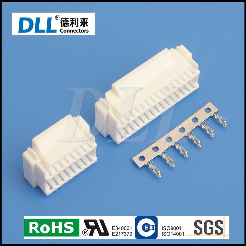 China Jst GHD 1.25mm Pitch Double Row Crimp Connector - China GHD ...