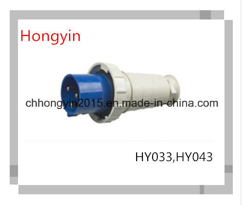 Hy033 and Hy043 63A 125A 3pin Industrial Plug